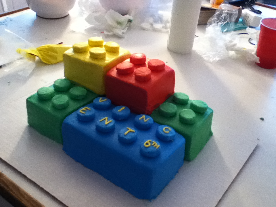How Make Lego Cakes
